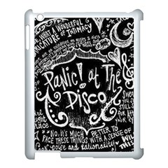 Panic ! At The Disco Lyric Quotes Apple Ipad 3/4 Case (white)