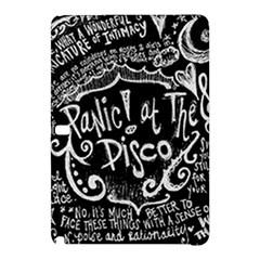 Panic ! At The Disco Lyric Quotes Samsung Galaxy Tab Pro 10 1 Hardshell Case