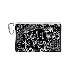 Panic ! At The Disco Lyric Quotes Canvas Cosmetic Bag (s)
