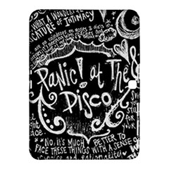 Panic ! At The Disco Lyric Quotes Samsung Galaxy Tab 4 (10 1 ) Hardshell Case