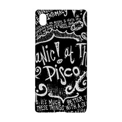 Panic ! At The Disco Lyric Quotes Sony Xperia Z3+
