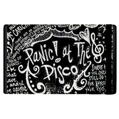 Panic ! At The Disco Lyric Quotes Apple Ipad Pro 12 9   Flip Case