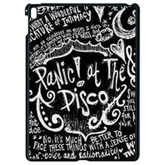 Panic ! At The Disco Lyric Quotes Apple Ipad Pro 9 7   Black Seamless Case