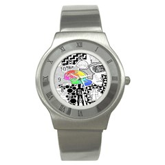 Panic ! At The Disco Stainless Steel Watch