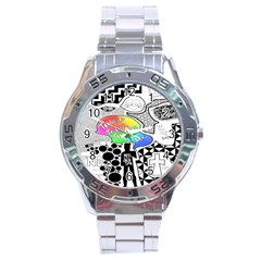Panic ! At The Disco Stainless Steel Analogue Watch