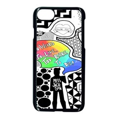 Panic ! At The Disco Apple Iphone 7 Seamless Case (black)