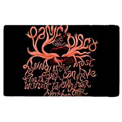 Panic At The Disco   Lying Is The Most Fun A Girl Have Without Taking Her Clothes Apple Ipad Pro 12 9   Flip Case
