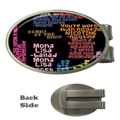 Panic At The Disco Northern Downpour Lyrics Metrolyrics Money Clips (oval)