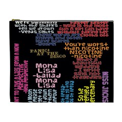 Panic At The Disco Northern Downpour Lyrics Metrolyrics Cosmetic Bag (xl)