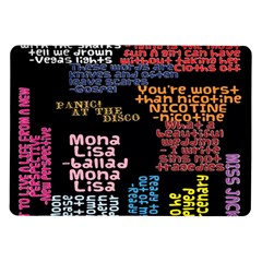 Panic At The Disco Northern Downpour Lyrics Metrolyrics Samsung Galaxy Tab 10 1  P7500 Flip Case