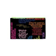 Panic At The Disco Northern Downpour Lyrics Metrolyrics Cosmetic Bag (xs)
