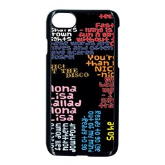 Panic At The Disco Northern Downpour Lyrics Metrolyrics Apple Iphone 7 Seamless Case (black)