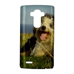 Bearded Collie Laying Lg G4 Hardshell Case