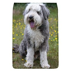 Bearded Collie Sitting Flap Covers (l)