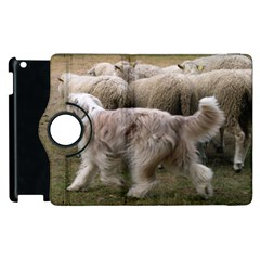Bearded Collie Working Apple Ipad 2 Flip 360 Case