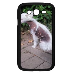 Chinese Crested Dog Sitting Samsung Galaxy Grand Duos I9082 Case (black)