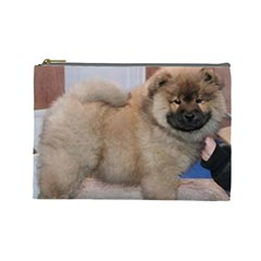 Chow Chow Pup Cosmetic Bag (large)