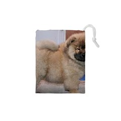 Chow Chow Pup Drawstring Pouches (xs)