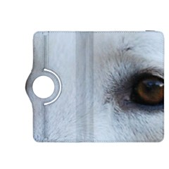 White German Shepherd Eyes Kindle Fire Hdx 8 9  Flip 360 Case