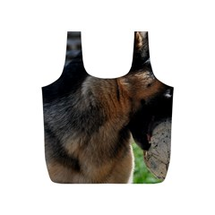 German Shepherd With Toy Full Print Recycle Bags (s)