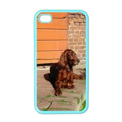 Irish Setter Laying Apple Iphone 4 Case (color)