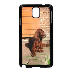 Irish Setter Laying Samsung Galaxy Note 3 Neo Hardshell Case (black)
