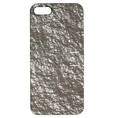 Crumpled Foil 17b Apple Iphone 5 Hardshell Case With Stand