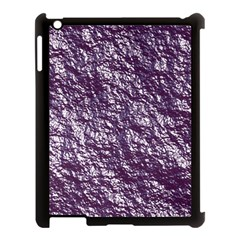 Crumpled Foil 17f Apple Ipad 3/4 Case (black)