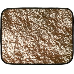 Crumpled Foil 17a Fleece Blanket (mini)