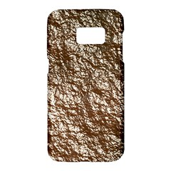 Crumpled Foil 17a Samsung Galaxy S7 Hardshell Case