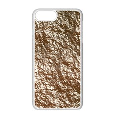 Crumpled Foil 17a Apple Iphone 7 Plus White Seamless Case