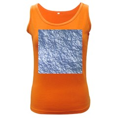 Crumpled Foil 17d Women s Dark Tank Top