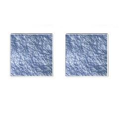 Crumpled Foil 17d Cufflinks (square)