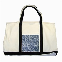 Crumpled Foil 17d Two Tone Tote Bag