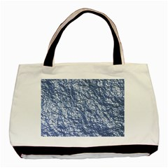 Crumpled Foil 17d Basic Tote Bag (two Sides)
