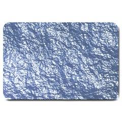 Crumpled Foil 17d Large Doormat