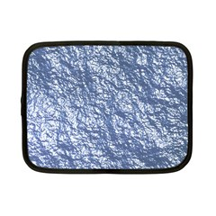 Crumpled Foil 17d Netbook Case (small)
