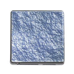 Crumpled Foil 17d Memory Card Reader (square)