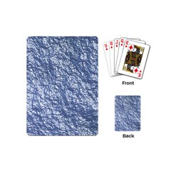 Crumpled Foil 17d Playing Cards (mini)