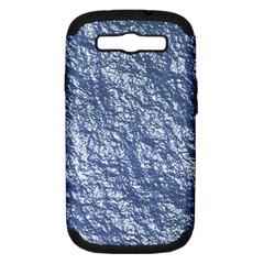 Crumpled Foil 17d Samsung Galaxy S Iii Hardshell Case (pc+silicone)