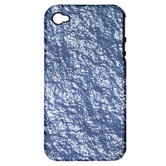 Crumpled Foil 17d Apple Iphone 4/4s Hardshell Case (pc+silicone)