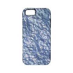 Crumpled Foil 17d Apple Iphone 5 Classic Hardshell Case (pc+silicone)