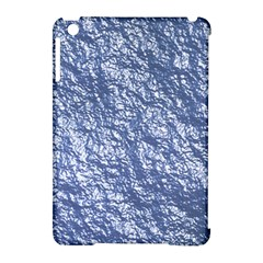 Crumpled Foil 17d Apple Ipad Mini Hardshell Case (compatible With Smart Cover)