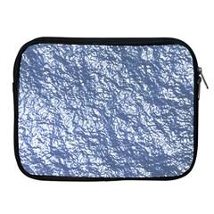 Crumpled Foil 17d Apple Ipad 2/3/4 Zipper Cases