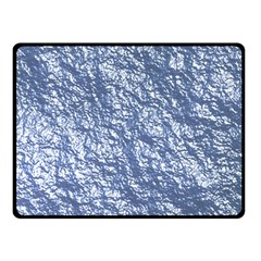 Crumpled Foil 17d Double Sided Fleece Blanket (small)