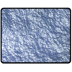 Crumpled Foil 17d Double Sided Fleece Blanket (medium)