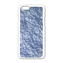 Crumpled Foil 17d Apple Iphone 6/6s White Enamel Case