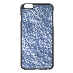 Crumpled Foil 17d Apple Iphone 6 Plus/6s Plus Black Enamel Case