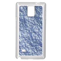 Crumpled Foil 17d Samsung Galaxy Note 4 Case (white)