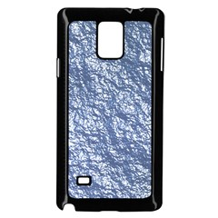 Crumpled Foil 17d Samsung Galaxy Note 4 Case (black)